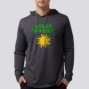 Solar Powered Mens Hooded Shirt
