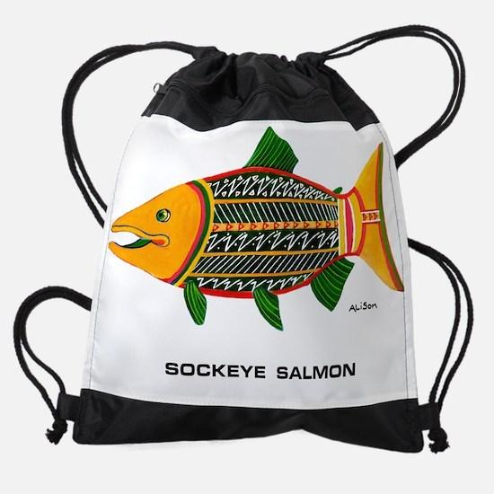 SockSalArtGo.png Drawstring Bag