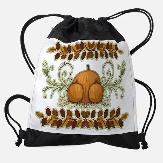 Autumn Bounty Drawstring Bag