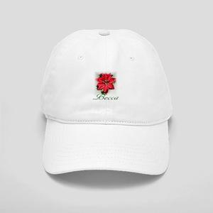 Poinsettia Becca Cap