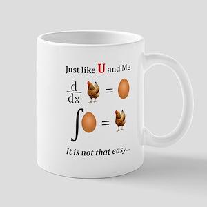 Egg or Hen Math T shirt Formula Mugs