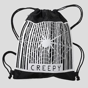 CreepyBarcodeLT Drawstring Bag