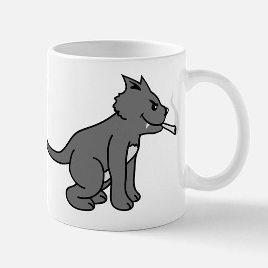 smoking_cat Mug