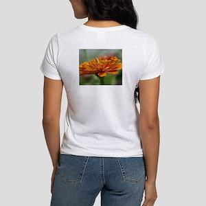 Orange Beauty Flower Women's T-Shirt