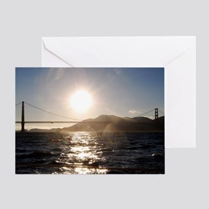 Golden Sunset #2 Greeting Card