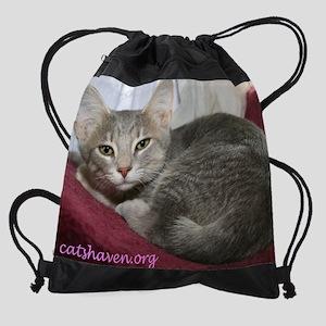 Cats Haven Rescue 255 Drawstring Bag