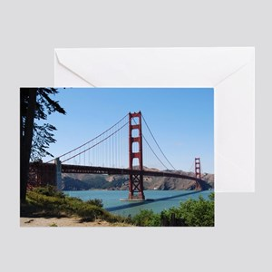 Golden Gate by Day Greeting Card