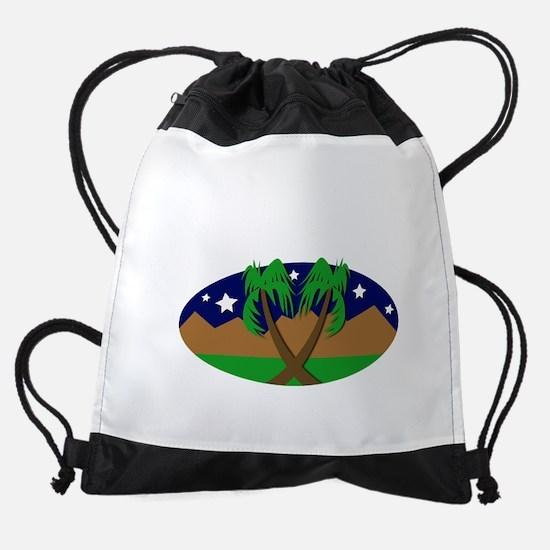 CAleaveK.png Drawstring Bag