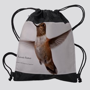 f-rufous Drawstring Bag