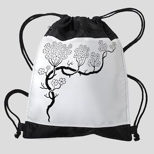 dogwood.transparent1-big Drawstring Bag
