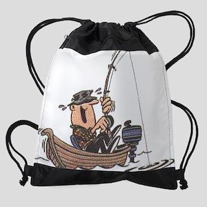 fishing21 Drawstring Bag
