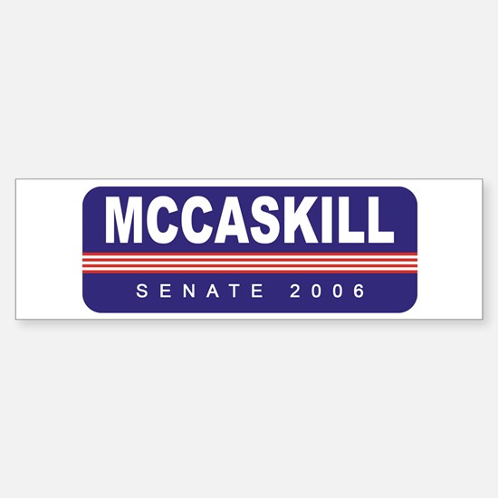 Support Claire McCaskill Bumper Bumper Bumper Sticker
