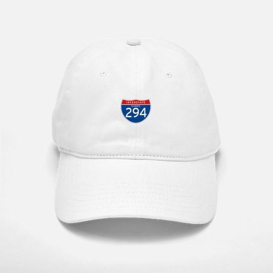 Interstate 294 - IL Baseball Baseball Cap