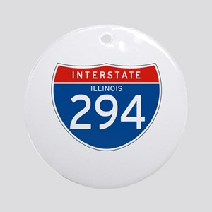 Interstate 294 - IL Ornament (Round)