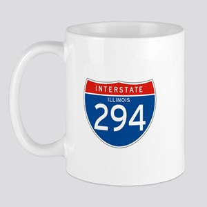 Interstate 294 - IL Mug