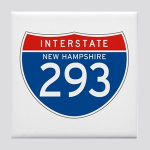 Interstate 293 - NH Tile Coaster