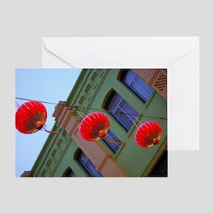 Paper Lanterns Greeting Card
