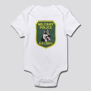 Military Police Canine Infant Bodysuit