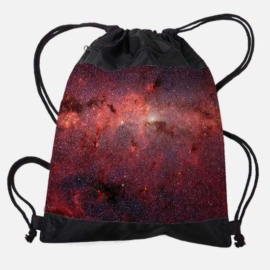 Core Milky Way Poster Small.png Drawstring Bag
