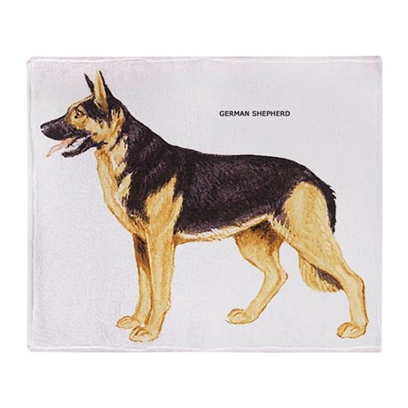 german shepherd blanket german shepherd dog throw blanket by animalartwork 6478