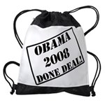OBAMA STAMP copy.png Drawstring Bag