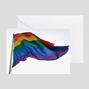 Pride Unfurled Greeting Card