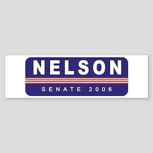 Support Bill Nelson Bumper Sticker