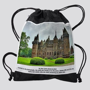 De Haar Castle Drawstring Bag