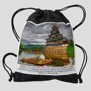 Matsumoto Castle Drawstring Bag
