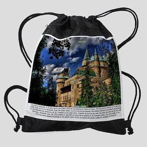 Bojnice Castle Drawstring Bag