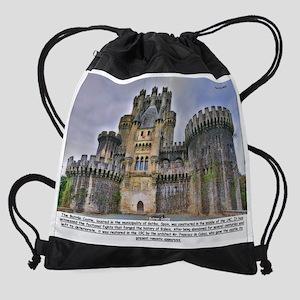 Butron Castle Drawstring Bag