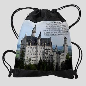 Neuschwanstein Castle Drawstring Bag