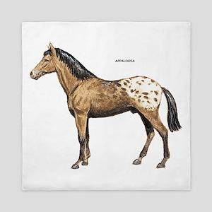 Appaloosa Horse Queen Duvet