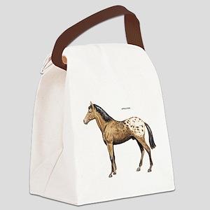 Appaloosa Horse Canvas Lunch Bag