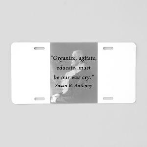 Anthony - Organize Aluminum License Plate