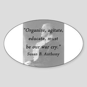 Anthony - Organize Sticker
