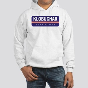 Support Amy Klobuchar Hooded Sweatshirt