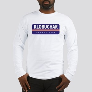 Support Amy Klobuchar Long Sleeve T-Shirt