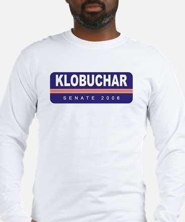 Support Amy Klobuchar Long Sleeve T-Shirt