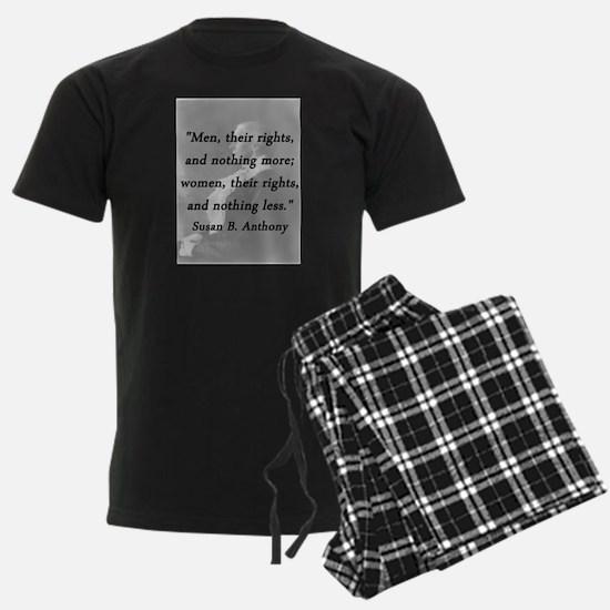 Anthony - Men Women Rights Pajamas