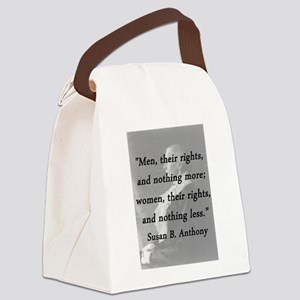 Anthony - Men Women Rights Canvas Lunch Bag