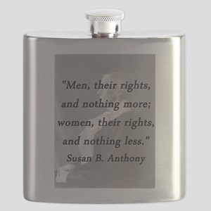 Anthony - Men Women Rights Flask