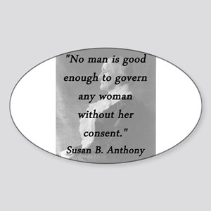 Anthony - Govern Any Woman Sticker