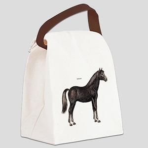 Morgan Horse Canvas Lunch Bag