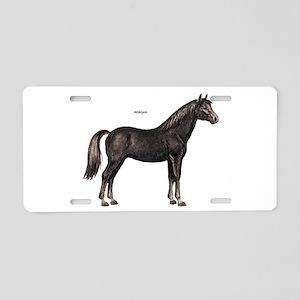 Morgan Horse Aluminum License Plate