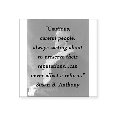 Anthony - Cautious Careful People Sticker