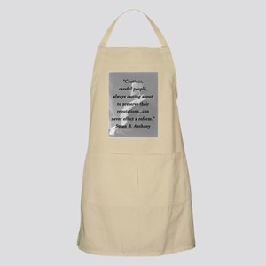 Anthony - Cautious Careful People Light Apron
