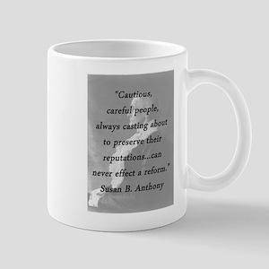 Anthony - Cautious Careful People Mugs