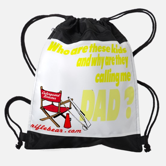 Copy of Who are these kids.png Drawstring Bag