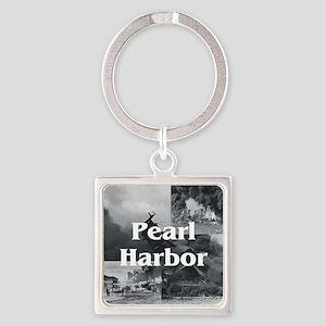 ABH Pearl Harbor Square Keychain